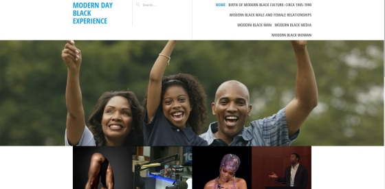 Modern Day Black Experience Home Page Photo