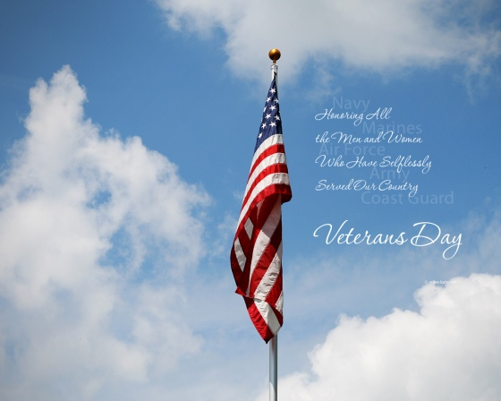 Free Veterans Day PowerPoint Background (4)